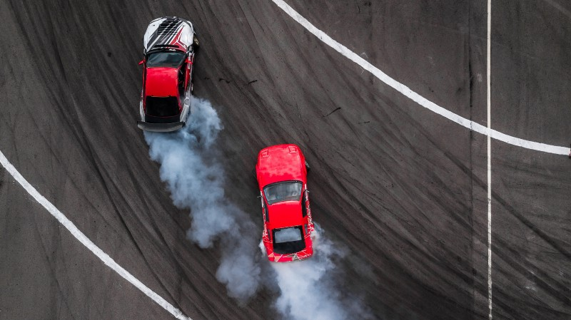 Action Bias Car Racing